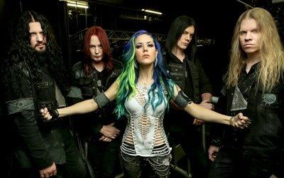 Arch Enemy, шведская дэт-металл группа, Alisa White-Gluz, Алисса Уайт-Глаз, Майкл Эмотт, Даниэль Эрландссон, Джефф Лумис, Шарли Д Анджело