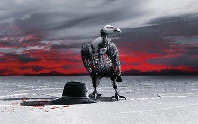 Мир Дикого Запада, Westworld, HBO, американский фантастический сериал телеканала НВО