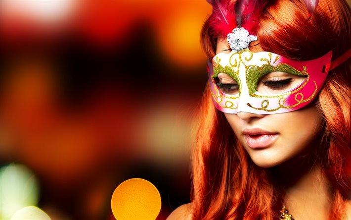 маска, карнавальная маска, маскарад
