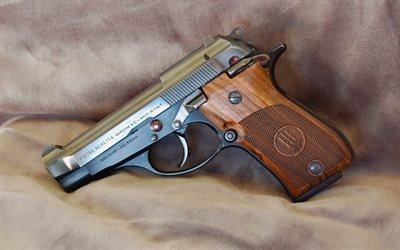 Оружие, Самозарядный пистолет, Беретта, Beretta, 1984