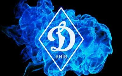 Динамо Киев, эмблема, синий огонь, ромб, Динамо Київ