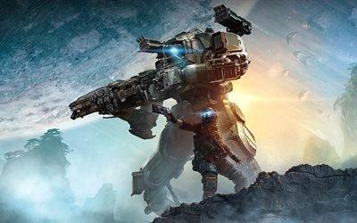 Titanfall 2, 2016, frontier, новый игры, постер