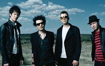 Sum 41, панк-рок-группа, Дерик Уибли, Том Такер, Джейсон Маккаслин, Фрэнк Зуммо