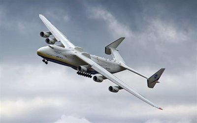 Ан-225 Мрия, небо, транспортный самолёт, полет, Ан-225 Мрія
