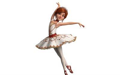 Балерина, Ballerina, 2016, Франция, Канада, мультфильм