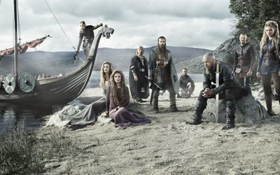 сериал, Викинги, Vikings, 2015, Season 3, Трэвис Фиммел, Рагнар Лодброк, Кэтрин Винник, Лагерта