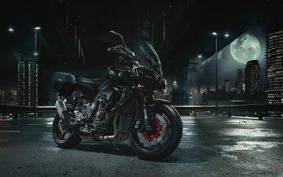 черный мотоциклы, Yamaha MT-10, 2017, Ямаха МТ-10