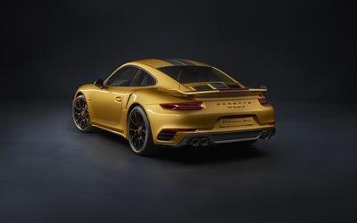 Порше, спортивное купе, эксклюзивная серия, 2017, Porsche, 911, Turbo S Exclusive Series