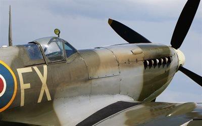Супермарин Спитфайр, британский истребитель времен Второй Мировой Войны, Supermarine Spitfire